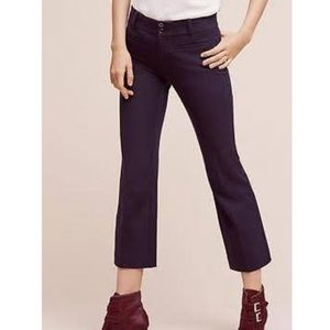 Anthropologie The Essential Crop Flare Pant 14